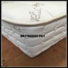 "Cotton Wool - Mattress Cover -- Zippered Complete Enclosure for 9"" of Latex"