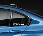 Powered By Land Rover Decal Sticker logo Range Rover LR4 Discovery Velar Pair