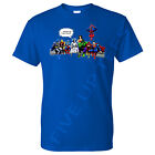 """And That's How I Saved The World Jesus Avengers T-Shirt """"Professional DTG Print"""""""