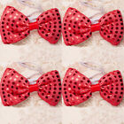 Creative Led Flashing Light Up Sequin Bowtie Necktie Party Bow Tie Wedding Gift