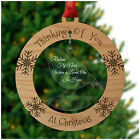 ROBINS In Memory Memorial Christmas Tree Decoration Keepsake Remembrance Bauble