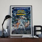 Moonraker James Bond 007 Moore Cinema Movie Film Poster Print Picture A3 A4 £7.9 GBP