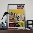 Alfred Hitchcock North By Northwest Movie Film Poster Print Picture A3 #2