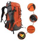 Nylon Material Camping Large-Capacity Mountaineering Bag 65 +5 L With Rain Cover