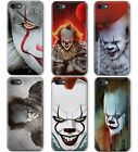 STEPHEN KING IT PENNYWISE CLOWN HORROR MOVIE PHONE COVER CASE FOR APPLE IPHONE