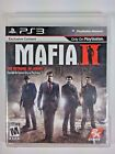 Mafia II (Sony PlayStation 3, 2010) Complete With Map Mob Action Adventure