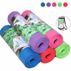 Thick 10 mm NBR Foaming Exercise Fitness Training Yoga Fitness Mat 183x61x1cm