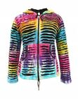 New Hippie Hoodie Rainbow Jacket Hippy Coat Festival Clothing up to Plus Size