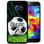 samsung galaxy s player - PERSONALIZED RUBBER CASE FOR SAMSUNG S8 S7 S6 S5 EDGE PLUS SOCCER PLAYER