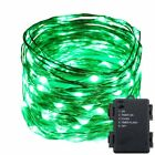 US 20M 200leds Copper Wire Fairy String Light Xmas Christmas Decor Lamp Battery