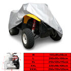 190T M-XXXL Silver ATV Cover Quad Bike Waterproof Dust Rain Portection Storage