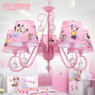 Pink Minnie Mouse Children's Ceiling Lamp/Light & Matching Table and Wall Lamp