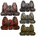 Camo car seat cover fits 94-02 Dodge Ram front 40-20-20 seat w/ Integrated SB/No