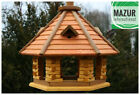 Wooden bird table, bird feeder, feeding station, bird's house, hotel, best gift.