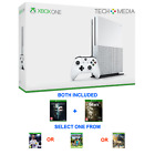 Xbox One S Bundle 1tb or 500gb 4 Game Bundle (Fifa 18, Minecraft or Assassins)