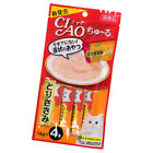 4X 14g Inaba Ciao Churu Purée Lickable Paste Treat Cat Lick Wet Treats Snack