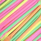 Rainbow Dust Straws, Sherbet Dust, Party Sweets, Fillers, Any Qty, PartyBits2008