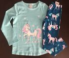 NWT Gymboree Girl Mix'N'Match Mint Unicorn Top & Leggings Outfit 4 5 6 7 8 10