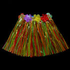 Kids Boy Girls Hawaiian Hula Grass Beach Skirt Flower Party Dress Hot Welcome