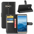 Luxury Flip Leather Wallet Card Case Cover For Huawei Mate 10 Lite Pro Nova 2i