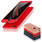 Luxury Ultra Thin 360 Full Shockproof Protect Case Cover For iPhone 8 / 8 Plus