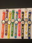 NEW CHILDREN CHARACTER WATCHES-- 1 PC- POKEMON -YOU CHOOSE BAND COLOR BELOW