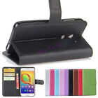 PU Leather Wallet Card Slot Flip Stand Case Cover For Alcatel A3 5046 5.0 inch