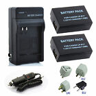 LP-E17 LPE17 Battery /  Charger For Canon EOS Rebel SL2 / EOS 200D Camera