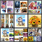 5D DIY Diamond Painting 42 Pattern Dog Cat Embroidery Cross Craft Stitch Art Kit