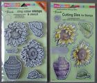 You Choose} Stampendous! ~ Sunny Vase ~ Stamp Set with Stencil OR Die Set