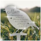 Because Someone We Love in Heaven PERSONALISED Remembrance Plaque Xmas Memorial