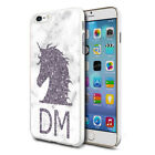 Personalised Purple UNICORN Head Phone Case Cover for Various Mobile Phones