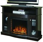 Electric Fireplace Media 248-44-34M Console Living Room Furniture Heater TV Stan