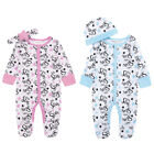 Baby Sleepsuit Babygrow With Headband Little Stars Or Cradle Cap NB To 3-6M