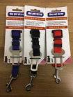 DOG PET CAR SAFETY SEAT BELT CLIP HARNESS RESTRAINT ADJUSTABLE SIZE 3 COLOURS