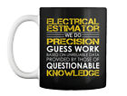 Electrical Estimator Precision Gift Coffee Mug