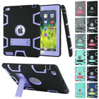 Shockproof Heavy Duty Rubber Hard Back Case Cover For Ipad 2 3 4 Mini Air 2 Lot