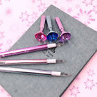 3pcs/lot School Supplies 0.5mm Black Ink Crystal Coloful Diamond Gel Pen New