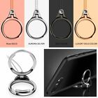 Finger Grip Metal Ring Stand Holder Lanyard Straps Strings For iPhone Samsung