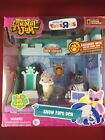 Animal Jam Core Friends Snow  Fort Den with Limited Edition Snow Leopard