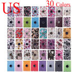 30 colors For Apple iPad 2 3 4/Mini/Air/Pro 360 Rotating PU Smart Case Cover US