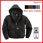 Kyпить Men Sandstone Canvas Quilted Thermal Lined Active Industrial Winter Duck Jacket  на еВаy.соm