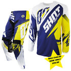 SHOT CONTACT FAST BLUE YELLOW HUSQVARNA CLEARANCE MOTOCROSS ENDURO COMBO KIT