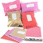 Polka Dots Post Postal Plastic Mailing Shipping Bags Strong Self Seal all Size