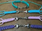 ADJUSTABLE CORDED HORSE SNAFFLE BRACELET - EQUINE - CHOICE OF COLOUR