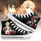 airwalk shoes online - Sword Art Online Anime Shoes Kirito and Yuuki Asuna Cosplay Unisex Canvas Shoes