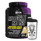 (15,20€/kg) Cutler Nutrition 100% Pure Muscle Mass 2625g Weight Gainer + SHAKER
