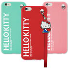 Genuine Hello Kitty Strap Soft Case iPhone 7 Case iPhone 7 Plus Case 5 Colors