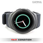 Samsung Gear S2 SM-R720 Smartwatch 42mm Dark Gray w/ NEW Generic Band