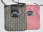 GUESS G-Shine Mini Messenger Crossbody Black or Pink Bag Handbag Sac Bolsa NWT